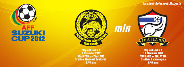Live Streaming Malaysia vs Thailand 9 Disember 2012 - Piala AFF Suzuki
