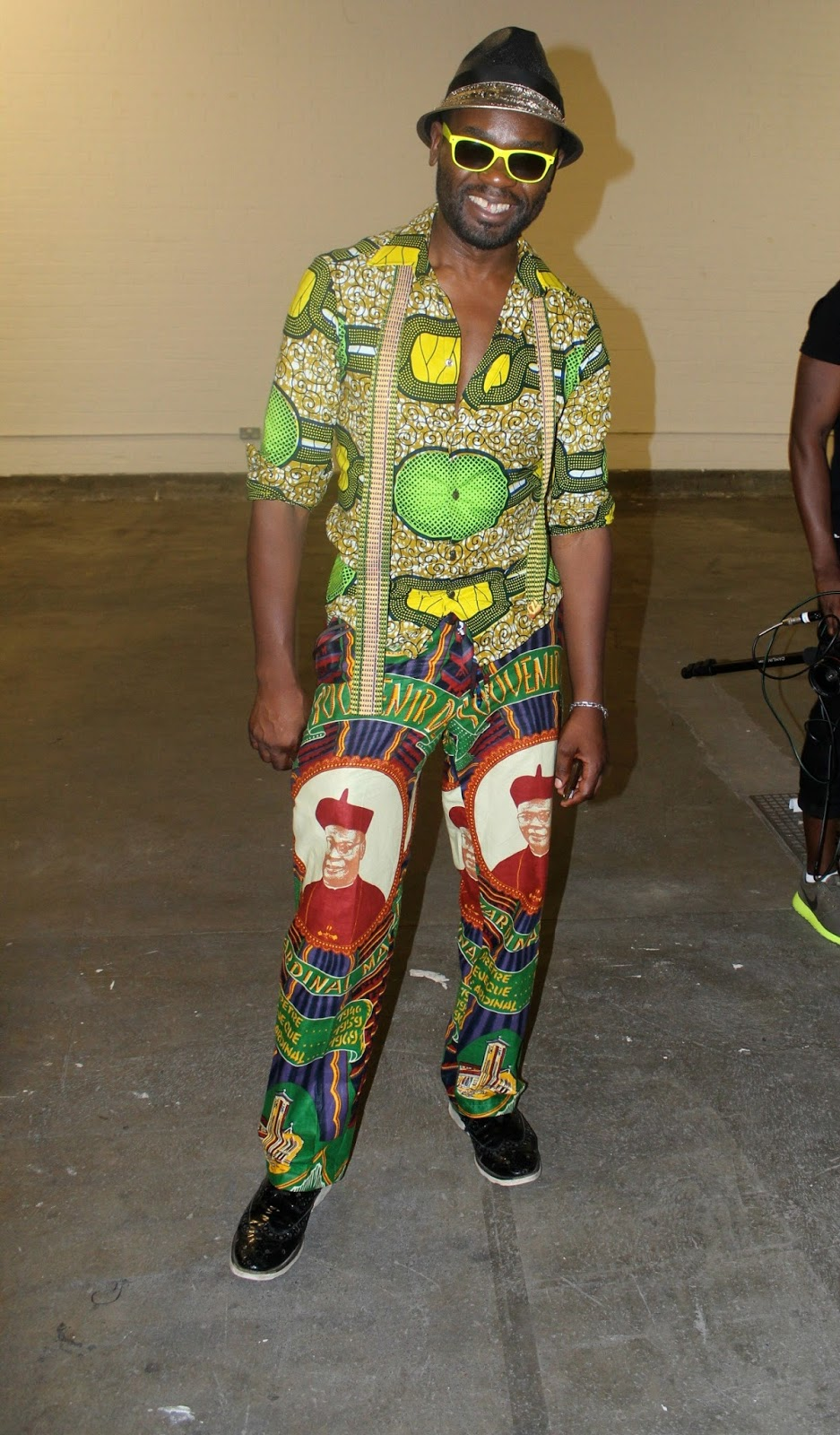 STREET STYLE | AWFL 2013 | THE MAN AND HIS AFRICAN PRINTS