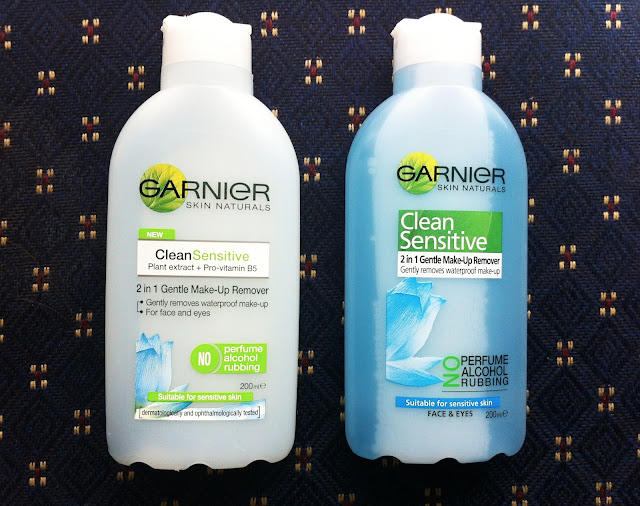 Garnier, Clean Sensitive 2 in 1 Gentle Makeup remover, sensitive skin, makeup removal, face and eyes, biphase, twoplicates, beauty, blog, reviews, thoughts, photos, melbourne