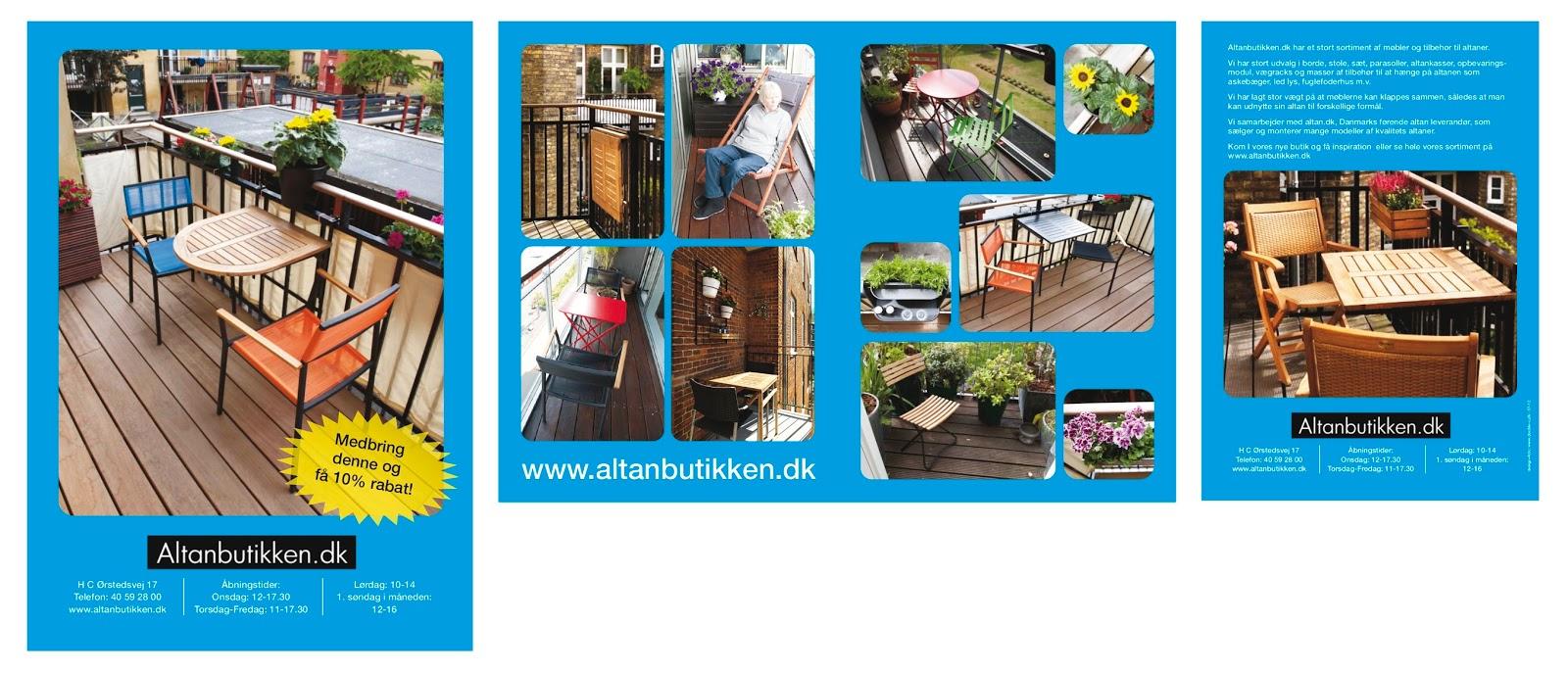 Altanbutikken brochurer | double u - design + photography