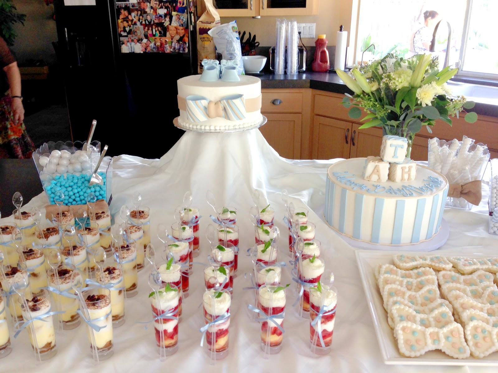 Tiramisu and Strawberry Shortcake Dessert Shots