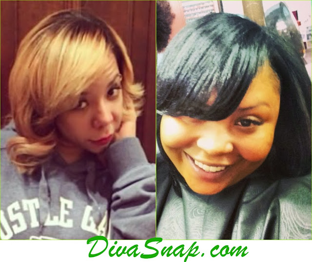 BESTIE TAMEKA TINY HARRIS AND SHEKINAH ROCK THEIR NATURAL FOR THE HOLIDAYS - DivaSnap.com