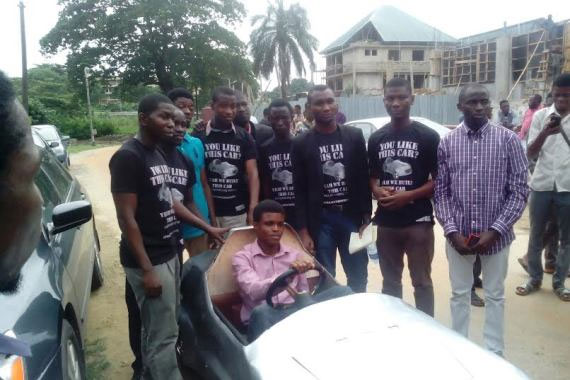 UNILAG Students Build Electric Car, Delvs Into Mass Production (Photo + Video)