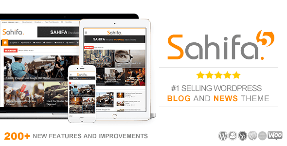 Sahifa v.5.3.2 Responsive WordPress News, Magazine, Blog Theme