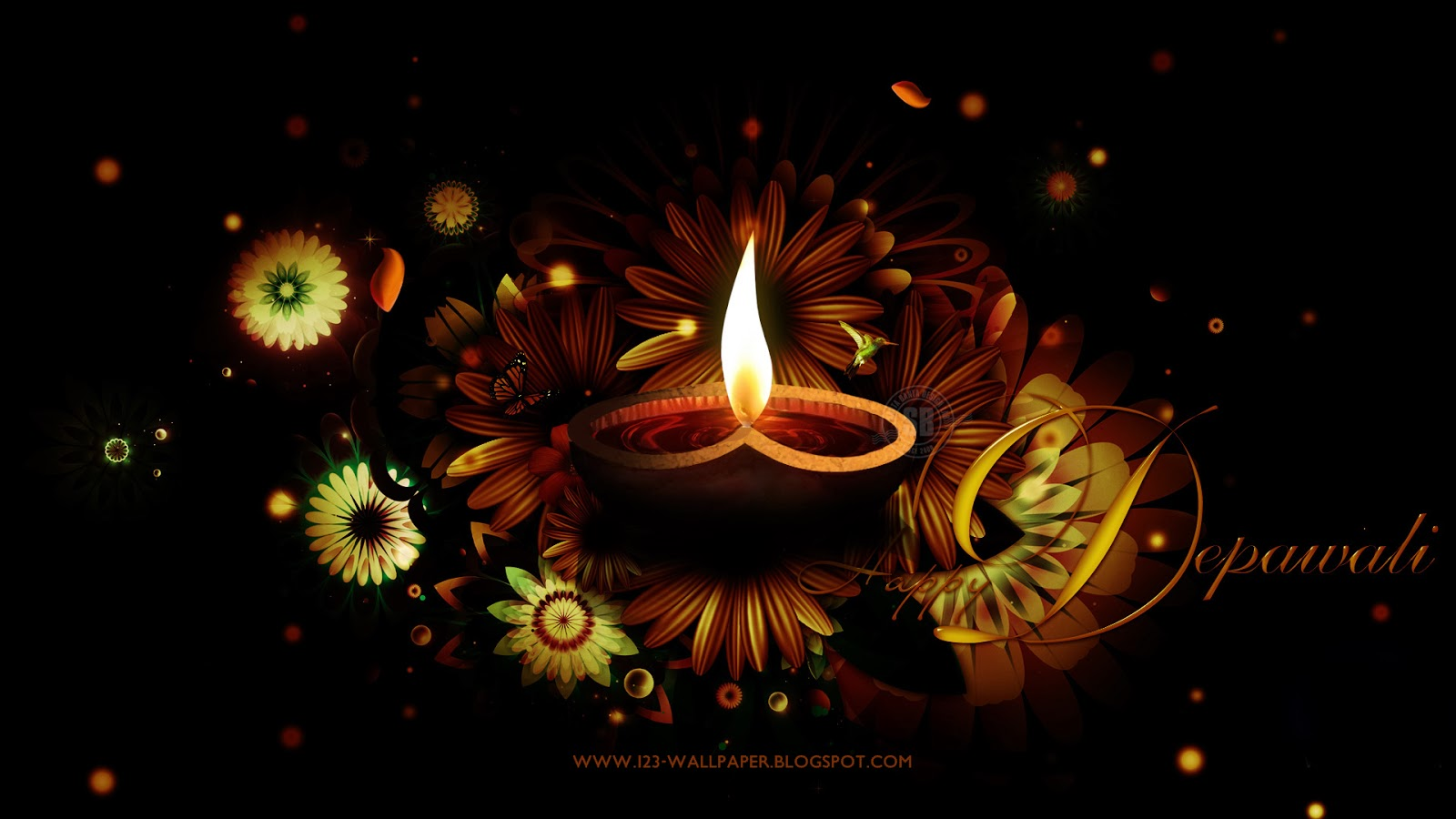 beautiful happy diwali wallpapers and greetings for year
