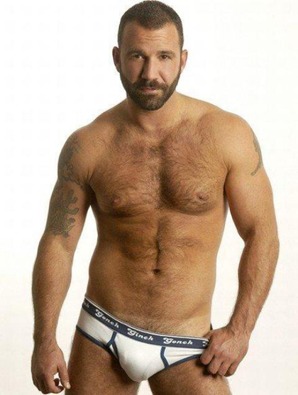 Daddy Hairy Muscle Men
