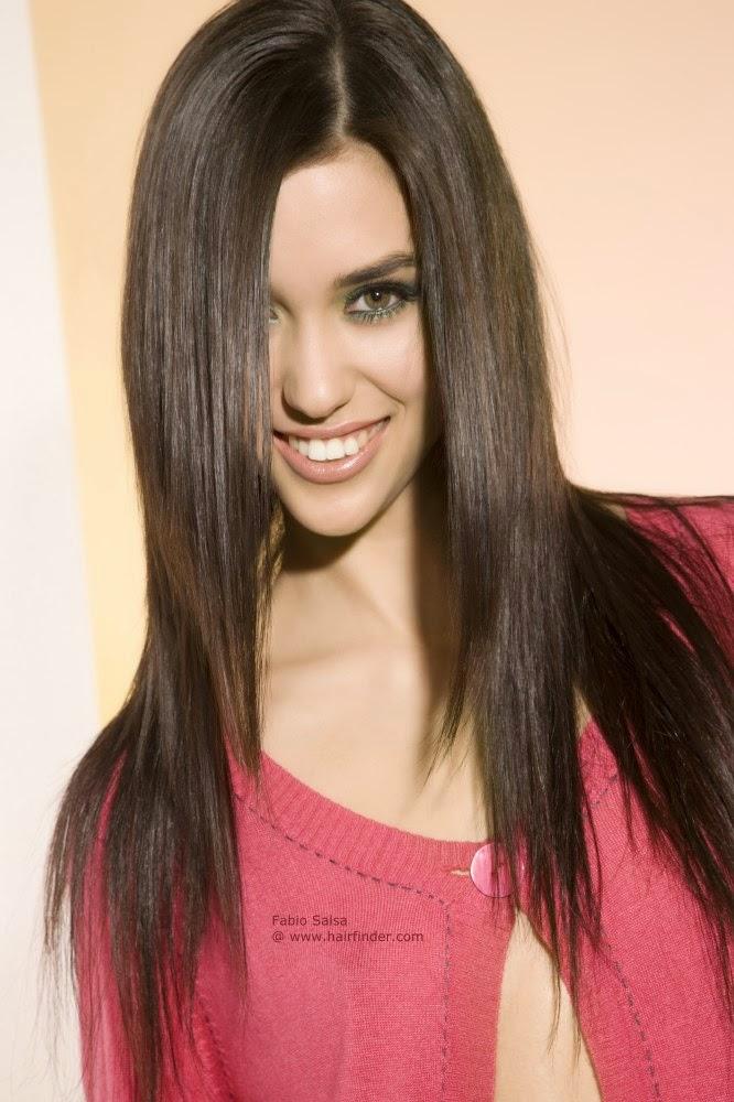 Фото стрижек длинные прямые волосы
