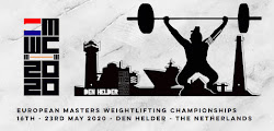 European Masters Weightlifting Championships 2020: