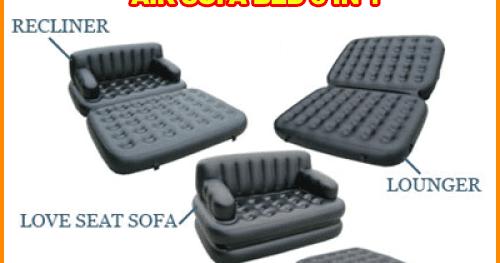 Air sofa bed 5 in 1 merk bestway blog nan yang for Sofa bed yang bagus merk apa