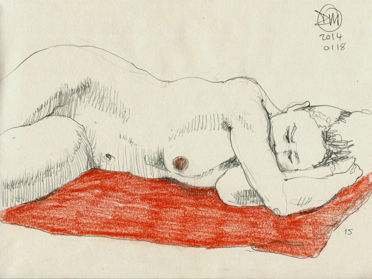 15 minute nude by David Meldrum