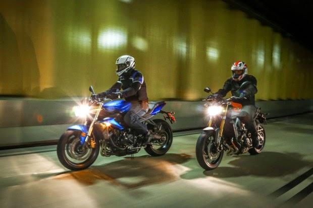 Duel Three Cylinder Bike, Yamaha MT-09 VS Triumph Street Triple