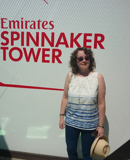 On the Spinnaker Tower | Petite Silver Vixen