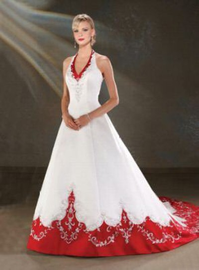 For Your Reference Here Are White And Red Wedding Dresses That Can Inspire You