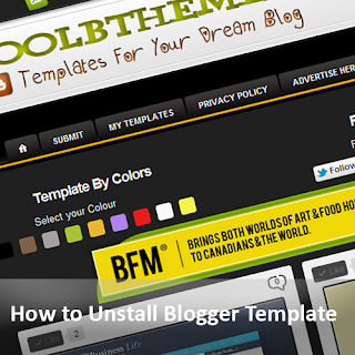 How to install a Blogger template Correctly?