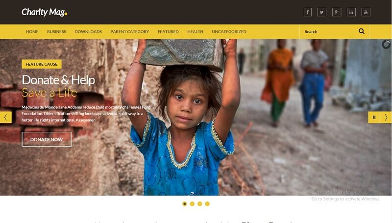 Download - Charity Mag - Responsive NonProfit Blogger Template