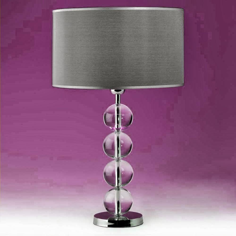 tischleuchten aus glas und kristall tischleuchte aus glas kugeln solid balls two. Black Bedroom Furniture Sets. Home Design Ideas
