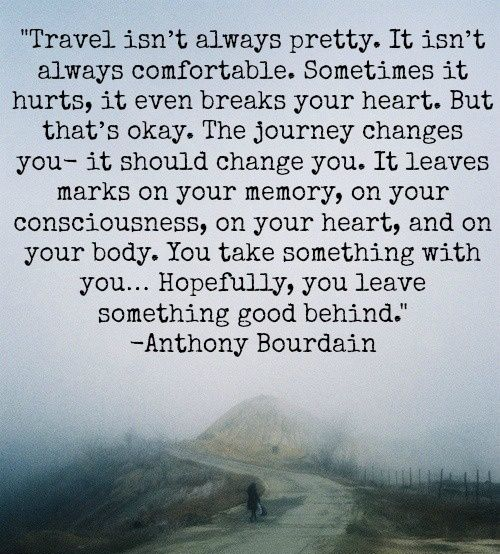 Travel quote by Anthony Bourdain