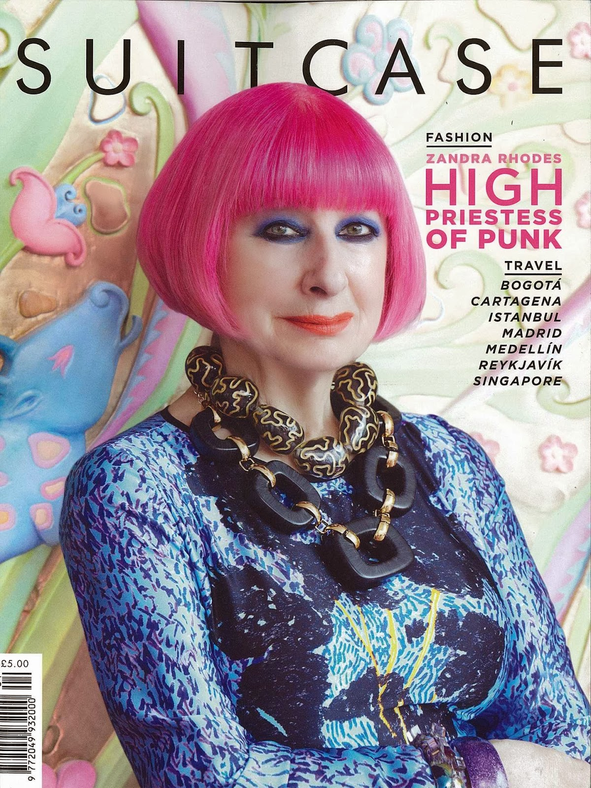 zandra rhodes essay A mutual favorite of ours, designer zandra rhodes, rules the cover page we  couldn't  interview questions to accompany the photo essay.