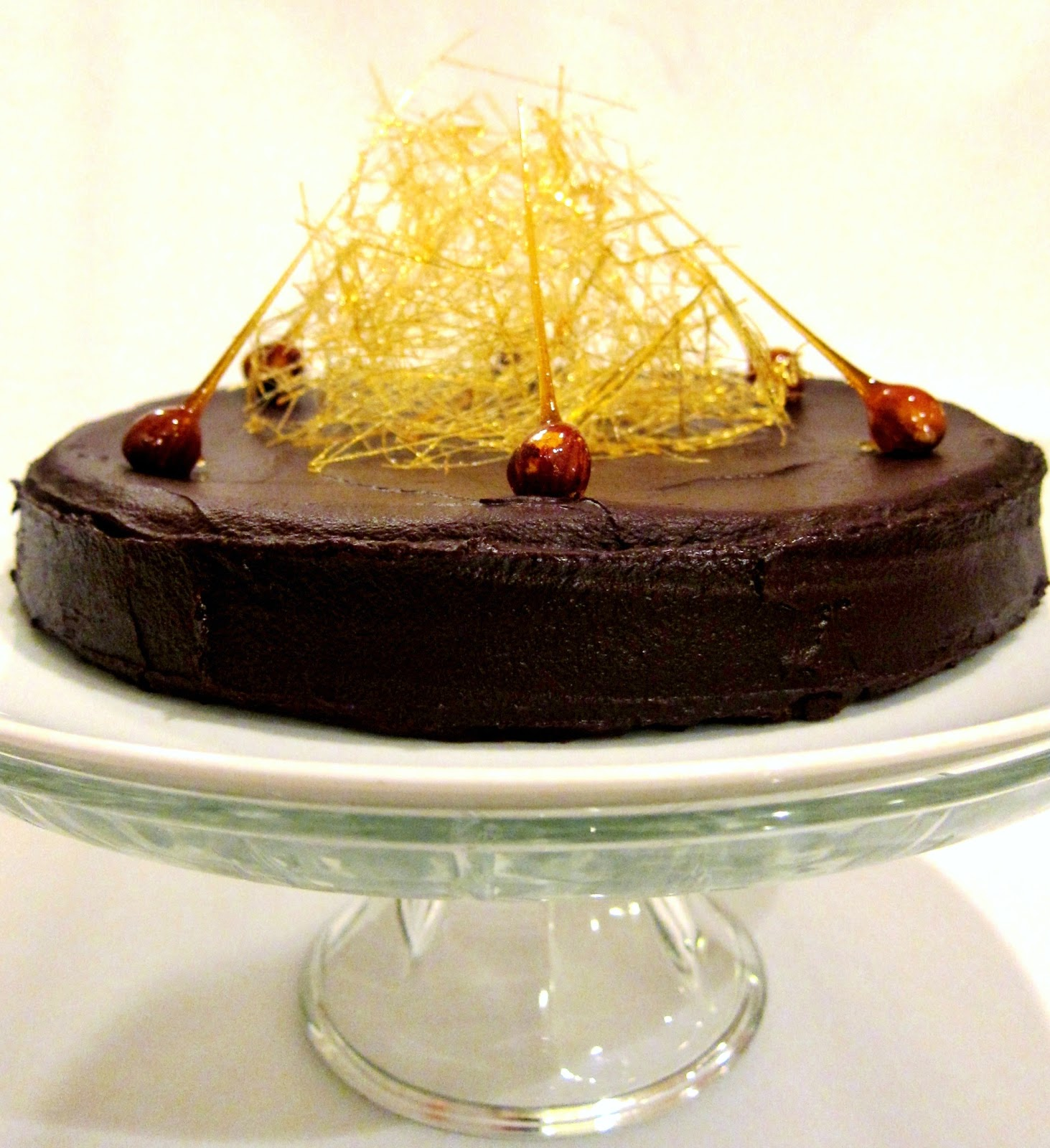 chocolate hazelnut torte gourmet magazine