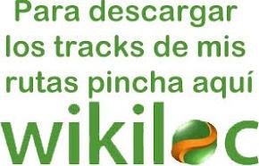 Mis rutas de wikiloc