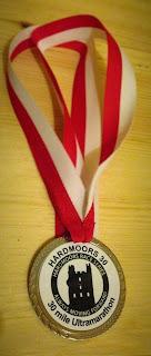 Hardmoors 30 2015 Finisher's Medal