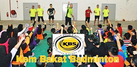 Blog rasmi Kem Bakat Badminton KBS