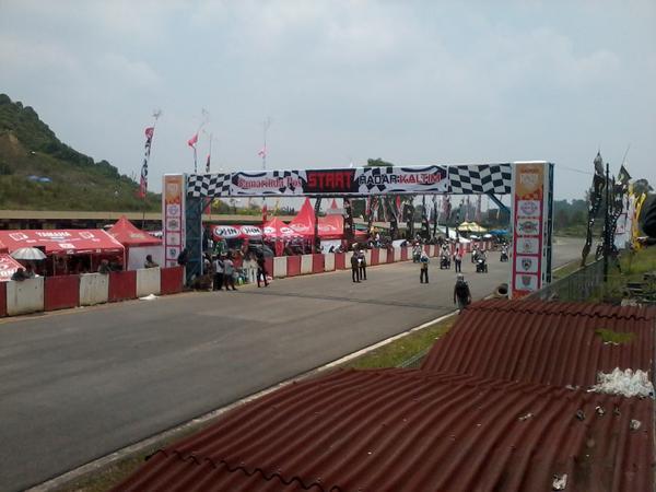 Sapos Open Race 2012 Sirkuit Kalan Samarinda