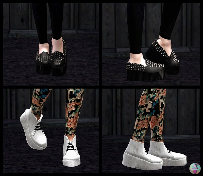 underground shoes by sims 3 wonderland title=