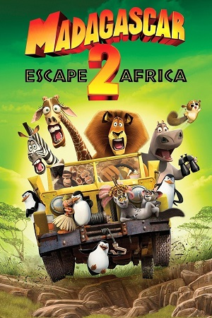 Madagascar Escape 2 Africa (2008) Full Movie Dual Audio [Hindi+English] Complete Download 480p [300MB] & 720p [850MB]