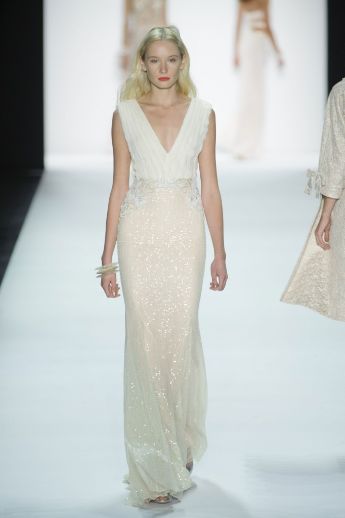 Badgley Mischka at New York Fashion Week Spring 2016 : Cool Chic Style Fashion