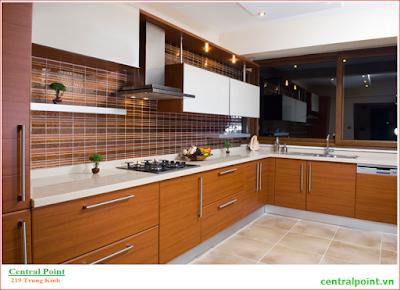 Tủ bếp cao cấp dự án Central Point