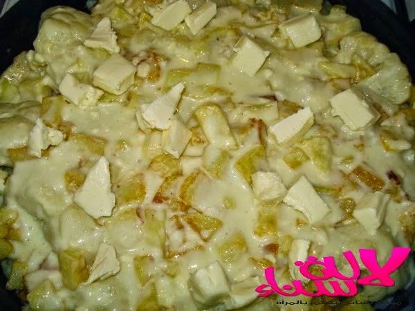 غراتان الشفلور والبطاطس المقلية