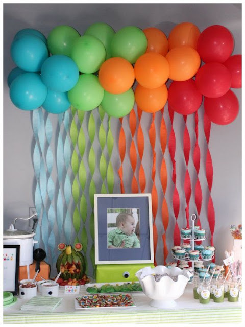 Do it yourself decorate a party