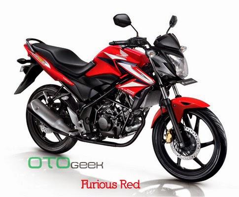 Honda CB150R Streetfire Furious Red