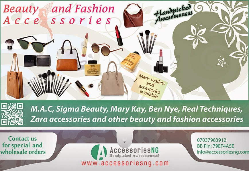 Flyer design | Beauty and Fashion Accessories