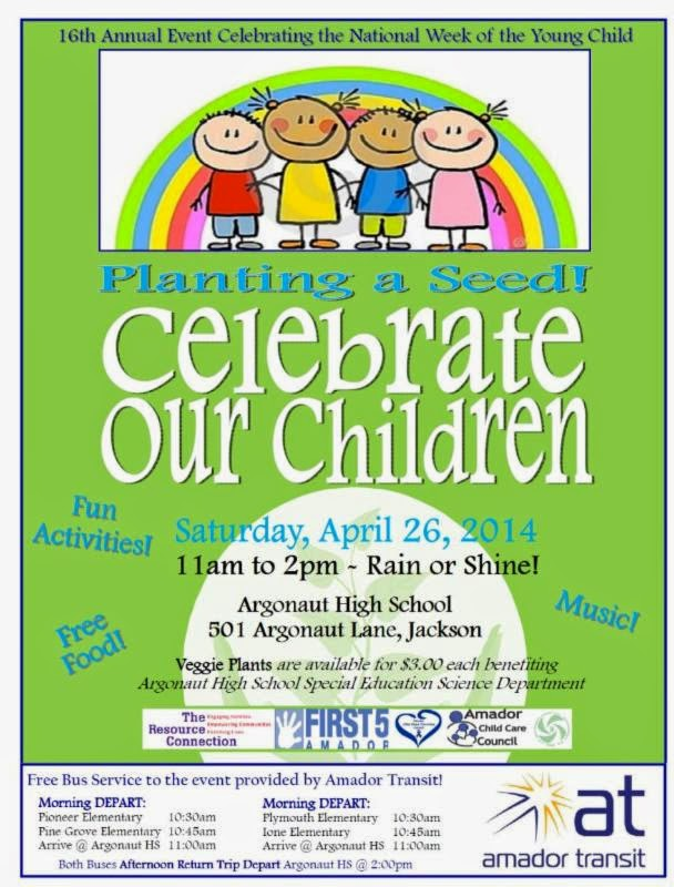 Celebrate Our Children - Sat Apr 26