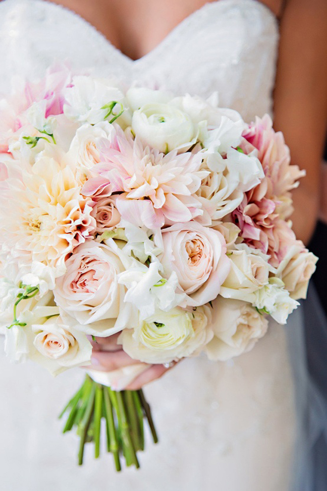 25 stunning wedding bouquets best of 2012 belle the for Best flowers for wedding bouquet