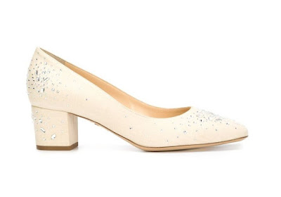 Charlotte Olympia low heeled pumps