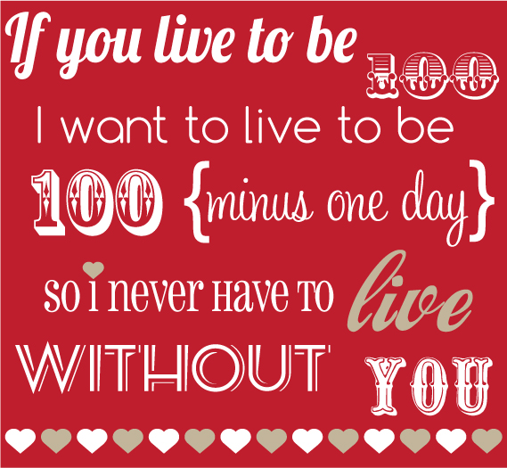 Sweet valentine quotes for him quotesgram for Love valentines day quotes