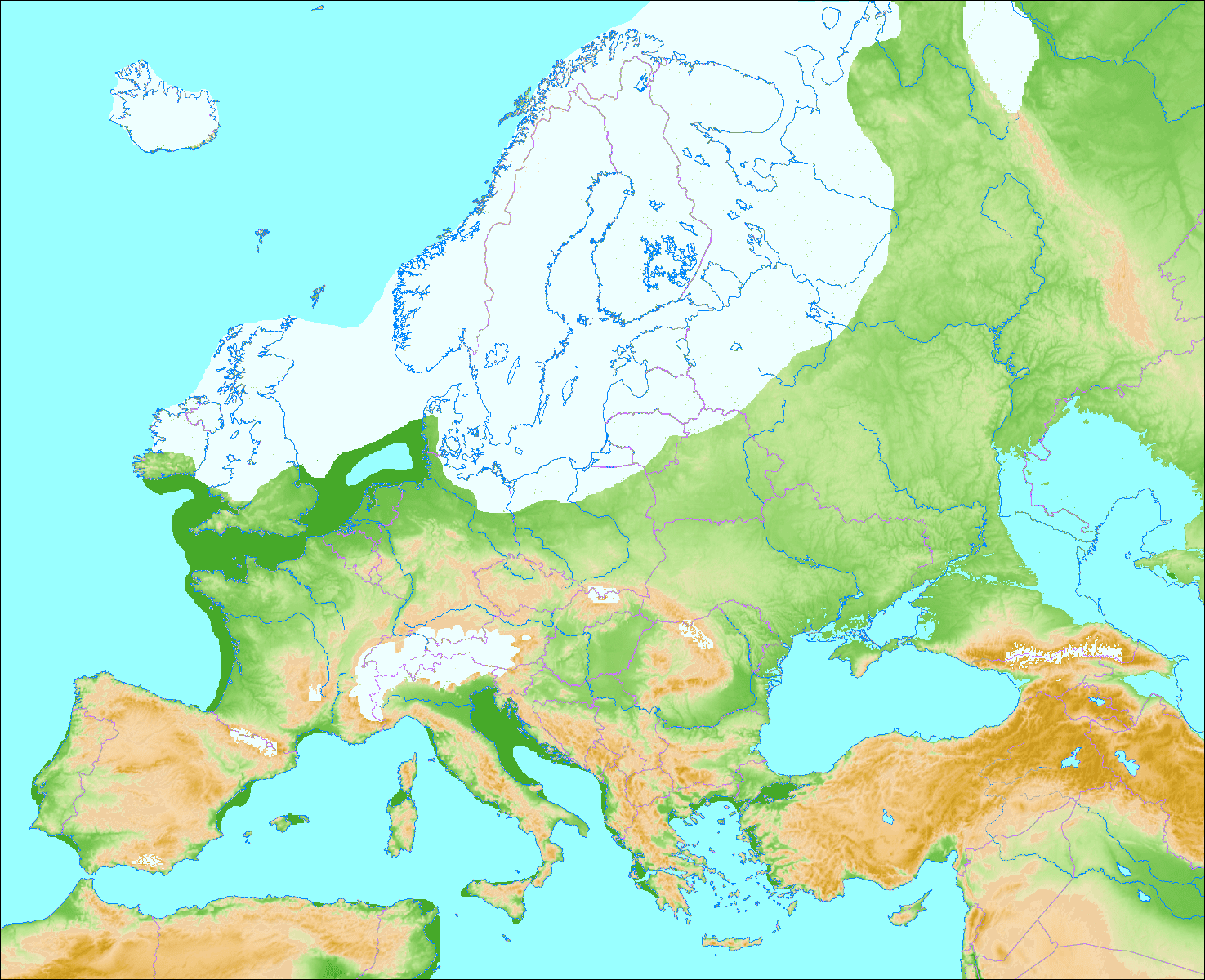 Northern European Ice Sheet