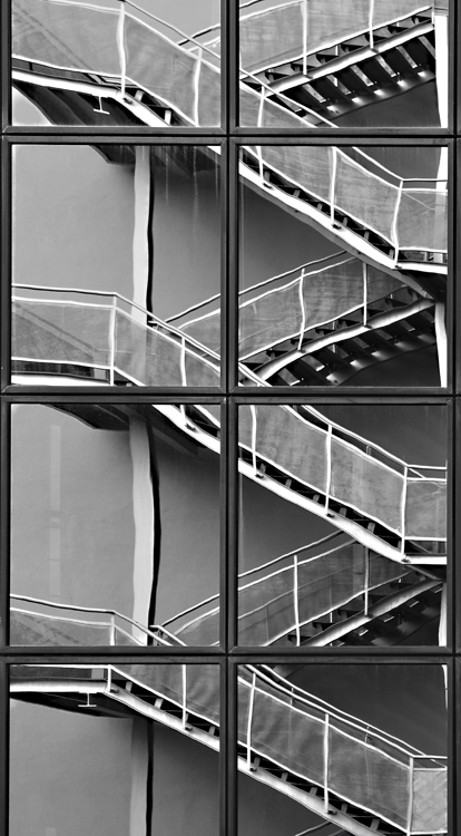 P xeles y neuronas escaleras la distorsi n producida por for Escaleras largas
