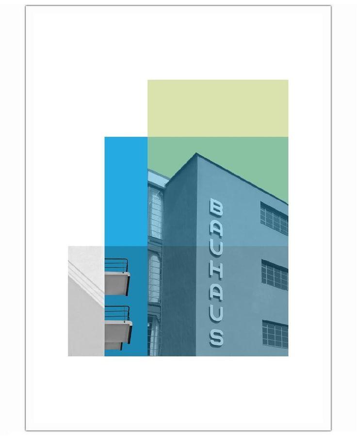 Bauhaus kunstplakat