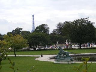 Jardín de las Tullerías de París