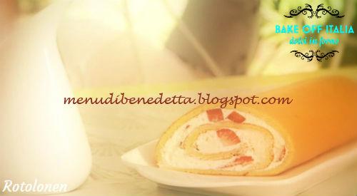 Ernst Knam ricetta rotolonen Bake Off Italia 3