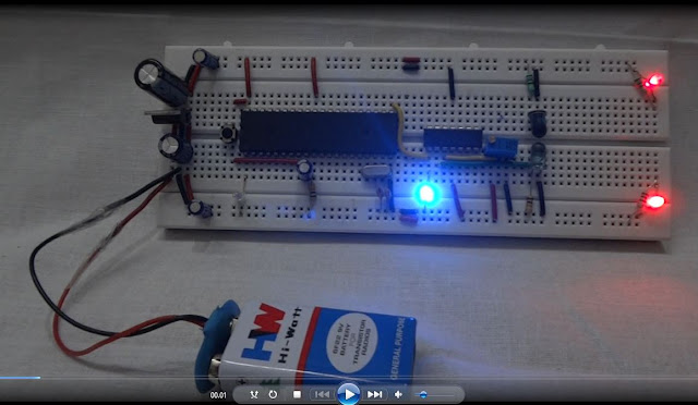 Interfacing_LM324_Comparator_IC_with_IR(Infra_Red_Light)_Sensor_and_8051_Microcontroller_on_Bread_Board