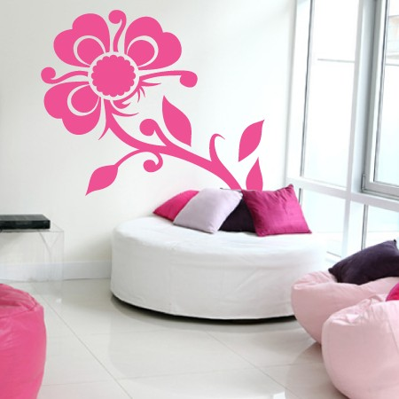 wallartdesign 10 Nice Girly Wall Paintings
