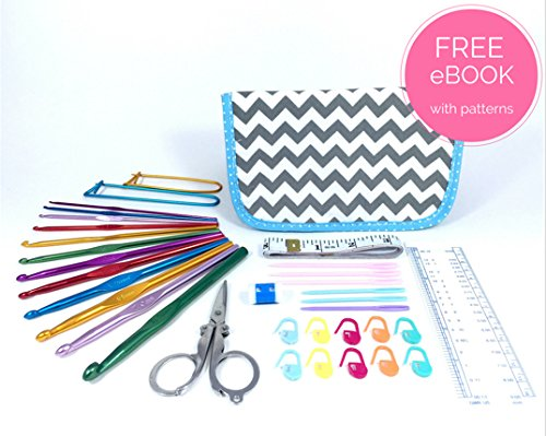 Ultimate Crochet Kit - Crochet Hook Set with Case Review