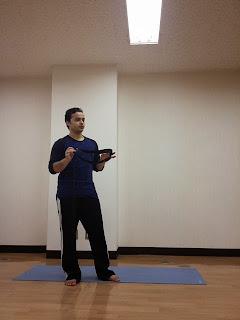 Adjustment yoga event