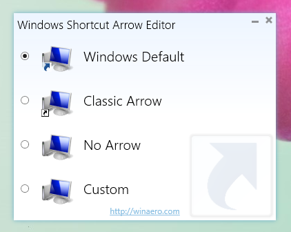 Windows Shortcut Arrow Editor Download