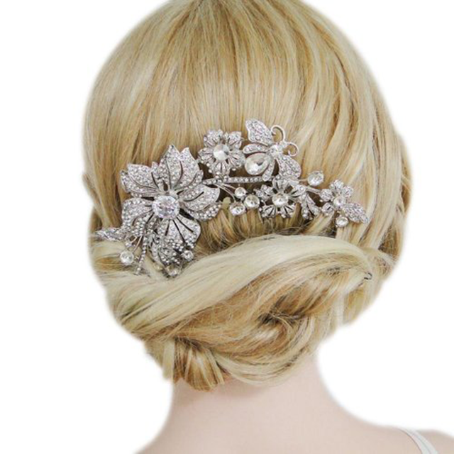 bridal hair accessories bridal hair combs discount bridal hair